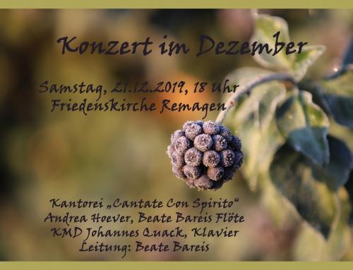Weihnachtskonzert in der Friedenskirche in Remagen