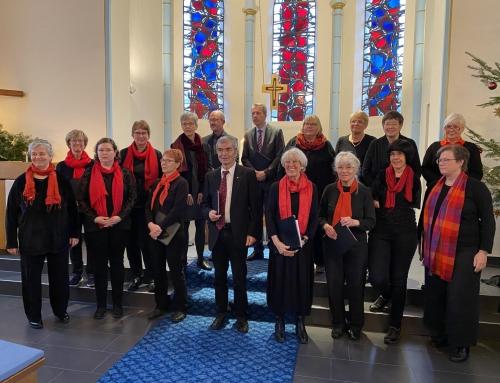 Einführung Beate Bareis als Chorleiterin