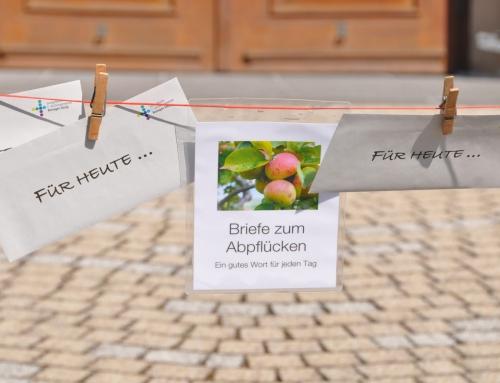 """Sie hängen wieder: Die Briefe """"Für heute"""""""