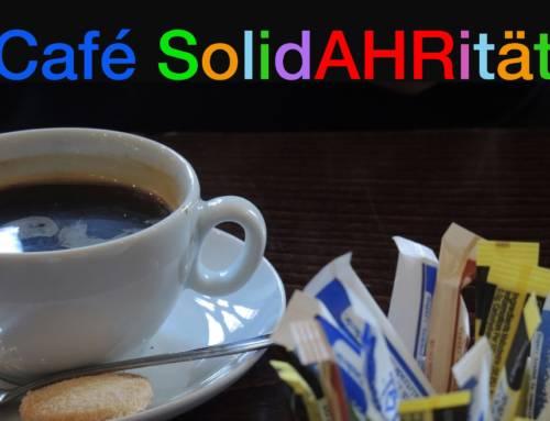 Ein Café für Gespräche, einen Kaffee und Beratung